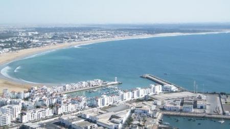Vista Panoramica della Città di Agadir