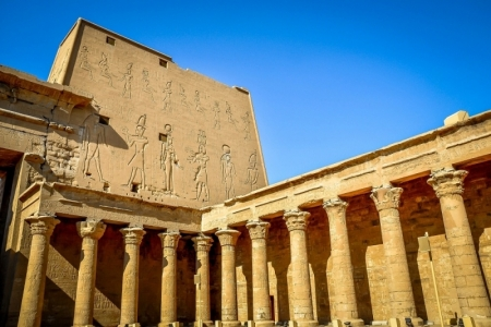 Edfu Temple, Upper Egypt