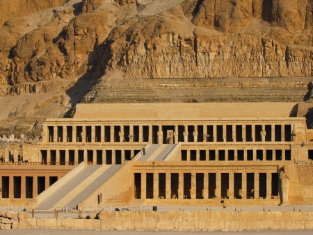 Queen Hatshepsut Temple in Luxor