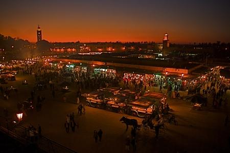 Jama El Fna, Marrakech