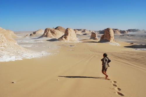 The valley of agabat at the Western desert, Egypt