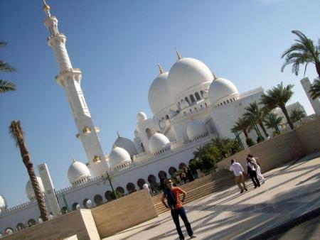 Día 10 : la Gran Mezquita de Sheikh Zayed.