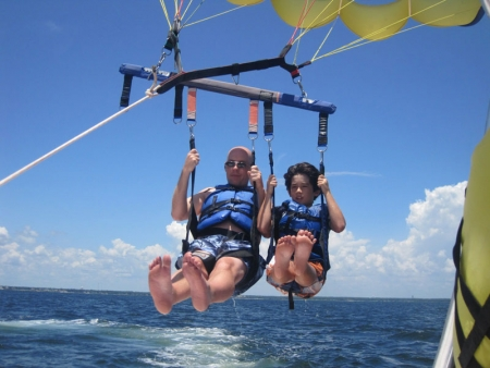 Parasailing in Sharm