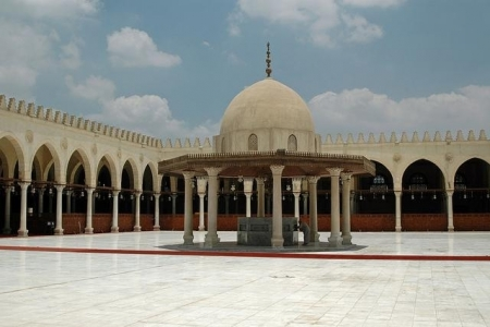 Amr Ibn Al Aas Mosque in Old Cairo