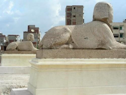La Colonne de Pompée, Alexandrie