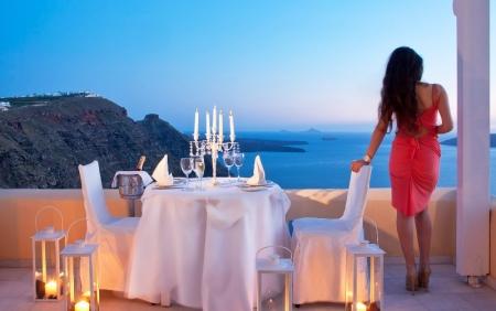 Romantic Dinner in Greece