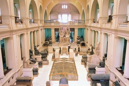 Inside The Egyptian Museum in Cairo