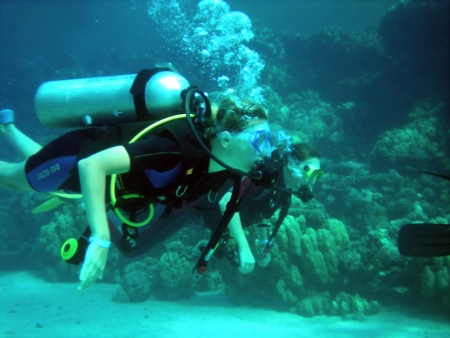 Diving at Marsa Alam, Red Sea