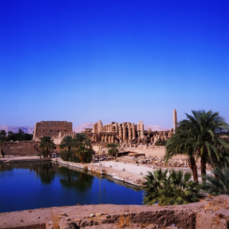 The Sacred Lake of Precinct of Amun-Re
