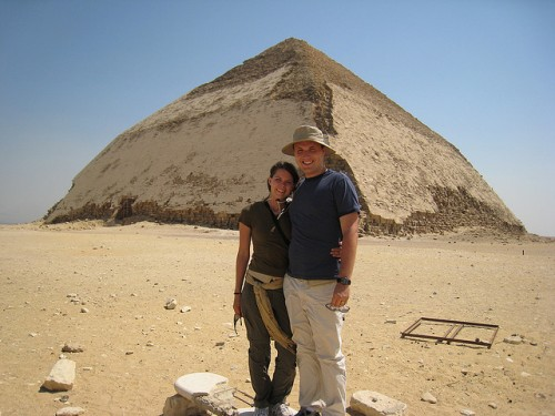 Snofru's Bent Pyramid at Dahshur, Giza