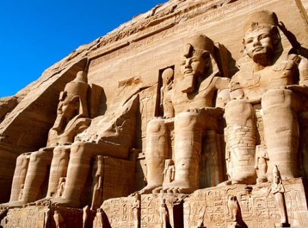 Abu Simbel Temple in Egypt