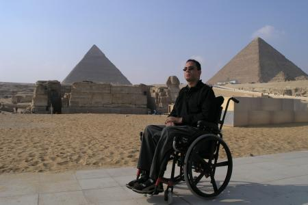 Giza Pyramids, Wheelchair Tour