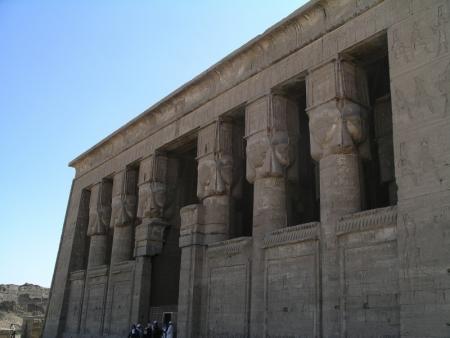 Il Tempio di Hathor a Dendera