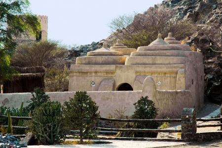 Moschea di Al Bidya nell'Emirato di Fujairah