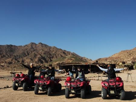 Quad biking Excursions in Sinai