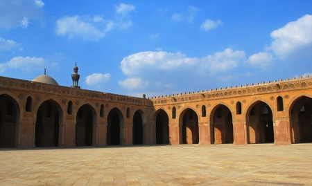 Mosque of Ibn Tulun in Cairo