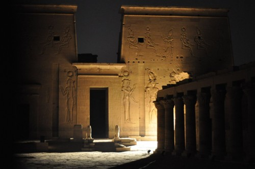 The Sound and Light Show at Philae Temple