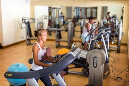 Fitness Center an Gym