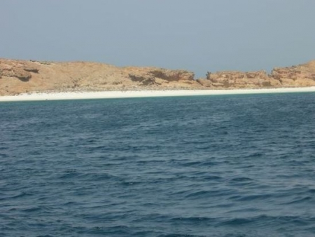Al-Sawadi Beach of Oman