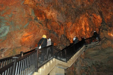 Damlatas Caves in Turkey