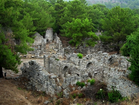 Phaselis of Turkey