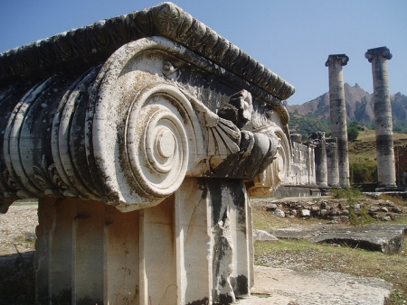 The Temple of Artemis in Turkey
