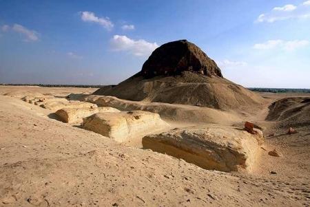 El Fayoum Lahun Pyramid