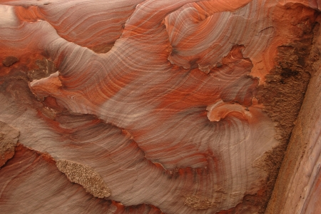 ぺトラの赤い石、ヨルダン