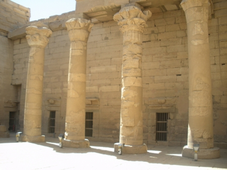 Kalabsha Temple Greek Style Columns