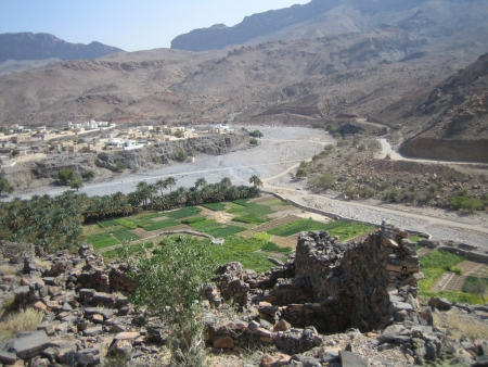 Wadi An Nakhr of Oman