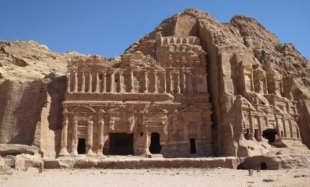 Royal Tombs in Petra
