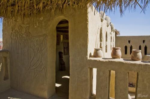Badr House, Farafra Oasis, Western Desert in Egypt
