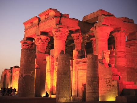 Kom Ombo Temple by Night