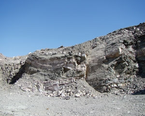 Al Awabi quartzite in Oman