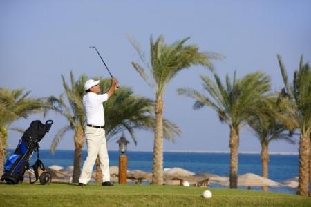 Golf Track at Steigenberger Al Dau Beach Hotel Hurghada
