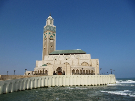 The Mosque of Hassan II