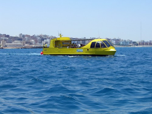 Semi Submarine in Sharm El Sheikh