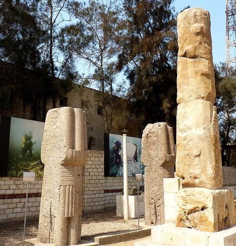 The Roman amphitheatre, Alexandria