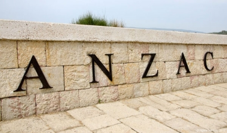 Gallipoli Anzac Cove in Turkey