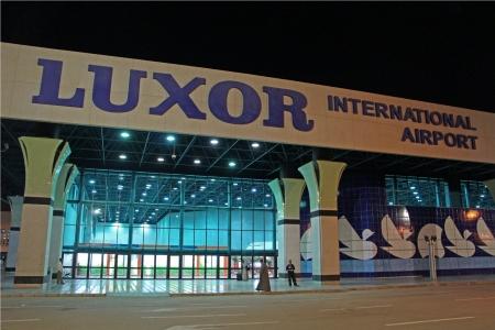 Luxor Airport At Night