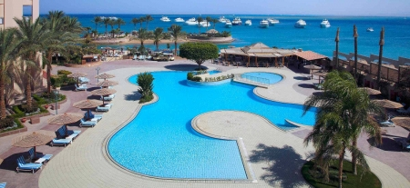 Hurghada Marriott Outdoor Pool