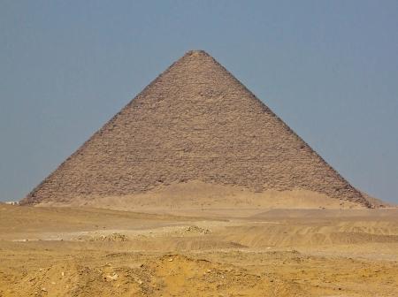 The Red Pyramid at Dahshur City