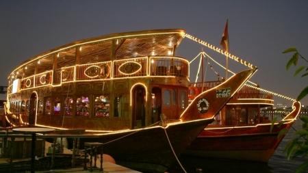 Crucero de Madera, Dubai