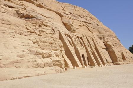 The Temple of Queen Nefertari - Abu Simbel