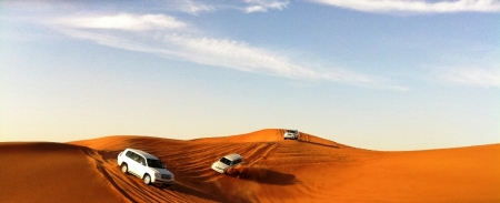 Dia 3: Safari em Dubai