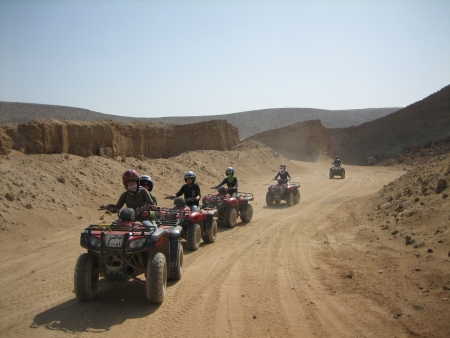 Sunrise Quad Bike Tour in Luxor
