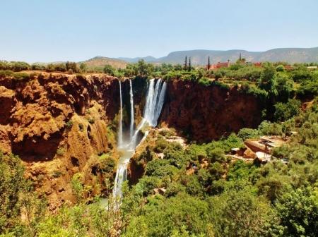 Cascate di Ouzoud, Marocco