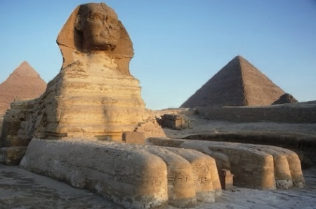 The great Sphinx in Cairo