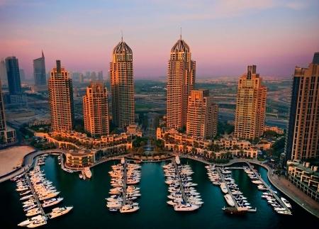 Dubai Marina, Piccola Venezia di Dubai