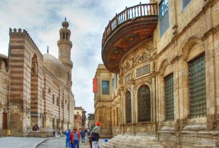 Walking at Moez Street, Cairo